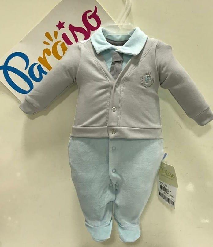 10394e3cf tip top macacão longo paraiso bebe menino plush luxo rf 9672. Carregando  zoom.