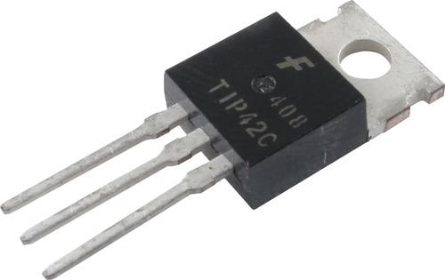 tip42c-fsc transistor pnp bipolar lf 6a 100v 65w pack x1