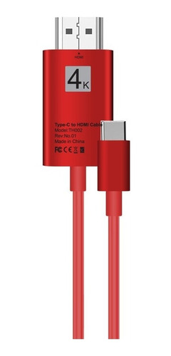 tipo portátil 2m: c a hdmi conversión cable 4k 30hz converti