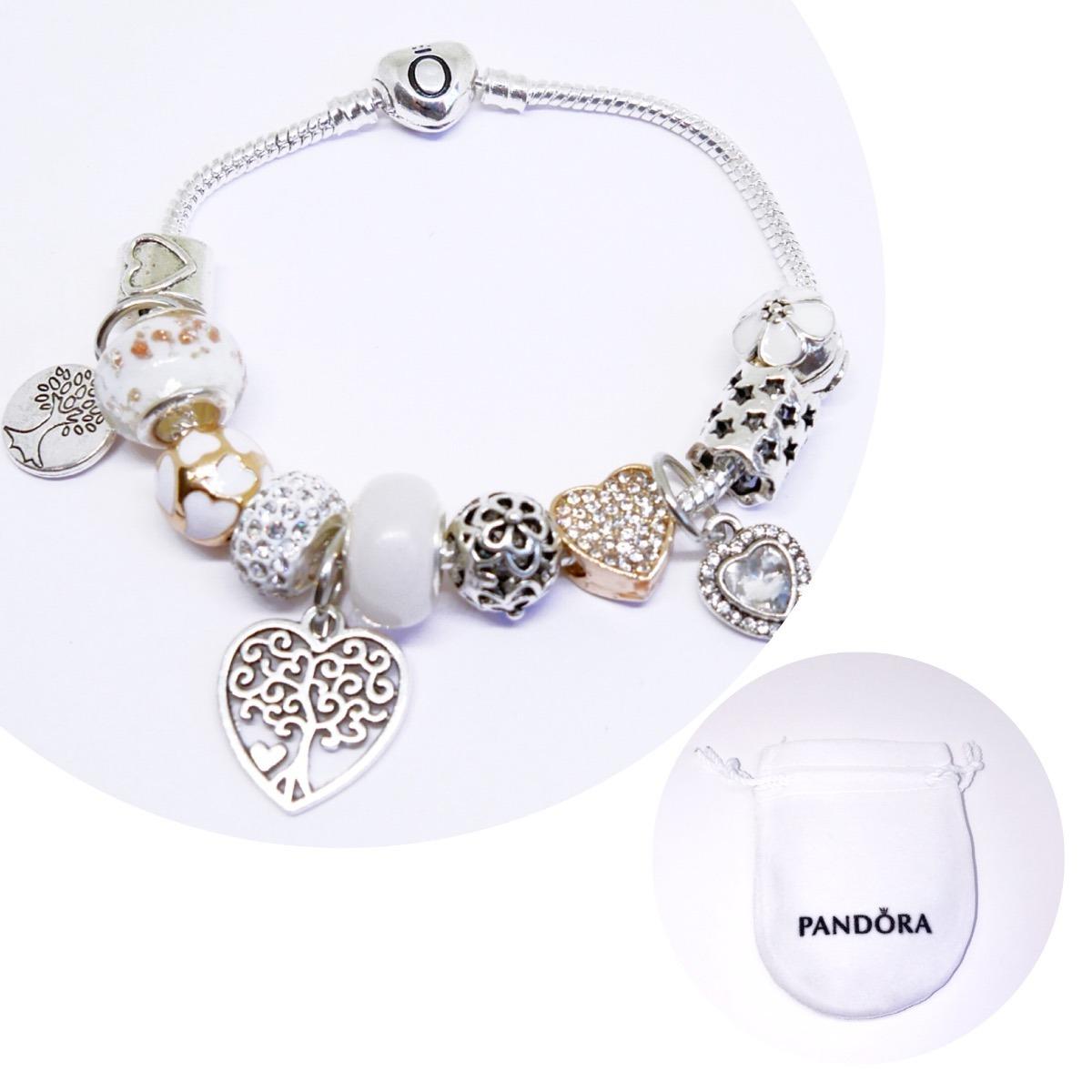 Tipo pulsera pandora charms dorados en mercado for Pandora jewelry amarillo tx