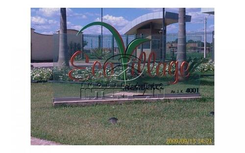 tipo: terreno condominio, cidade: são josé do rio preto - sp, bairro: cond. eco village i