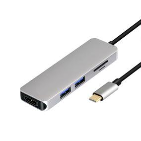 Tipo Usb - Convertidor C A Hdmi Para Huawei Compañero 10 Con