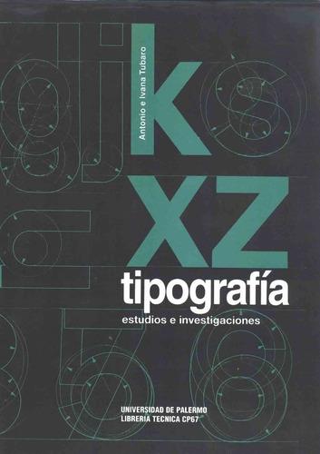 tipografia. estudios e investigacion