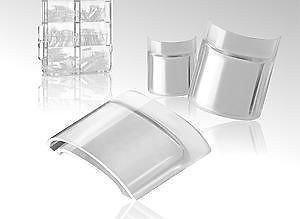 tips de pecera caja de tips acuario huecos +200 cristales