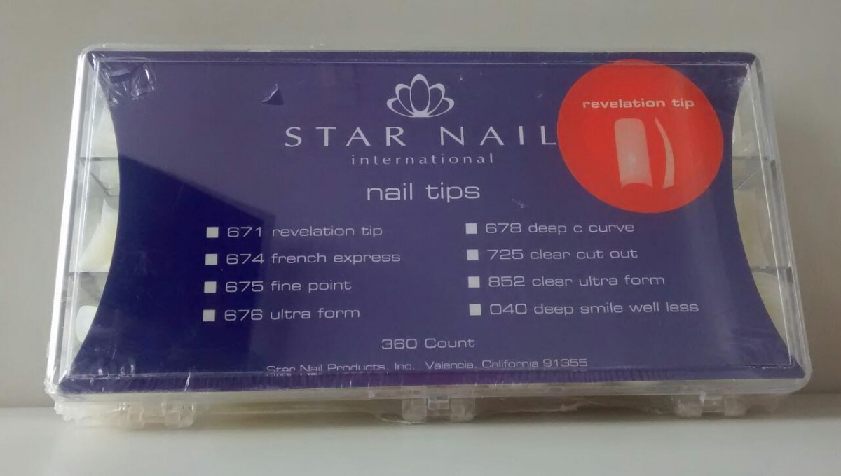 Tips Star Nail Revelation C/ 360un - R$ 120,00 em Mercado Livre