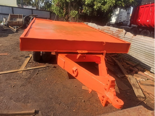 tiptop trivelato 2,80m largx4,50m comp. p/ trator de esteira