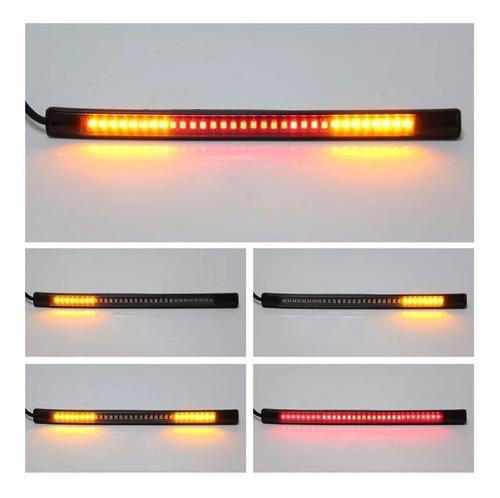 tira 48 led para motos luz freno + intermitente