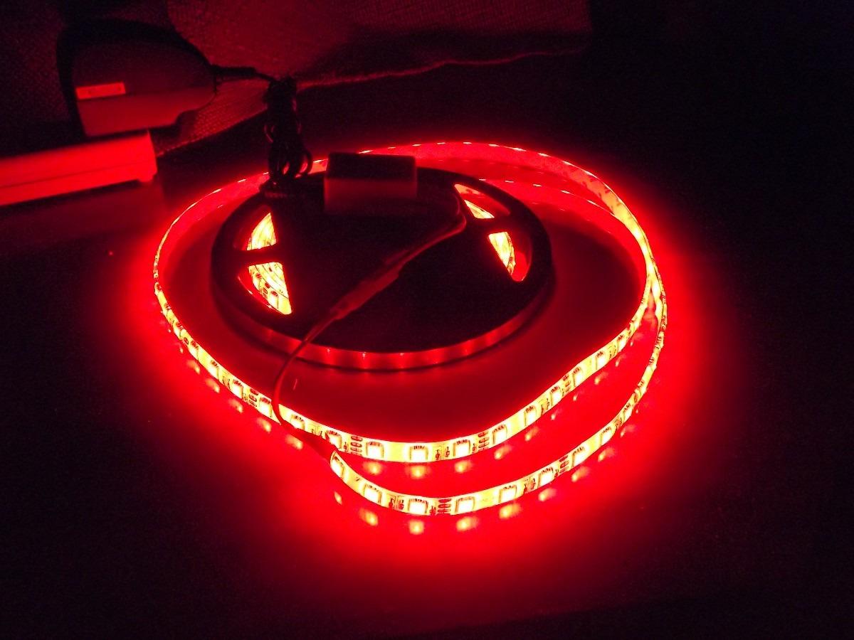 Tira 5 mts led rgb multicolor kit completo 5050 - Precio tira led ...