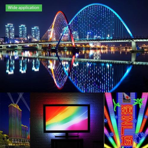 tira 5m pixel led 300 rgb outdoor exterior ws2812 b alitove