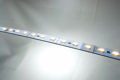 tira 72 leds 5630 x 1m rígida blanco frío/cálido 2000 lumens