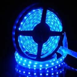 tira de led 5050 azul 60led/m siliconada de 5 metros