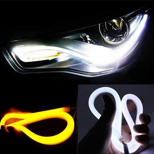 tira de led 60cm flexible drl con sistema de luz de giro