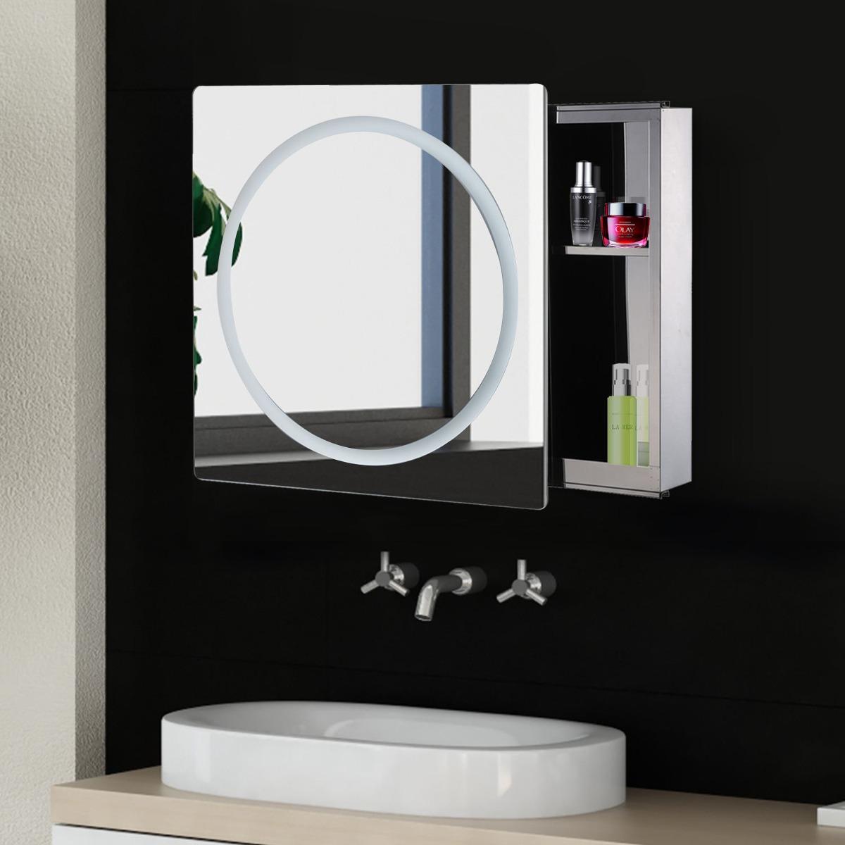 Tira De Led Espejo Gabinete Moderno Cuarto De Baño Puerta - $ 99.000 ...