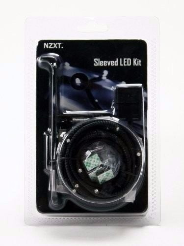 tira de led nzxt sleeved led kit 1 metro - varios colores