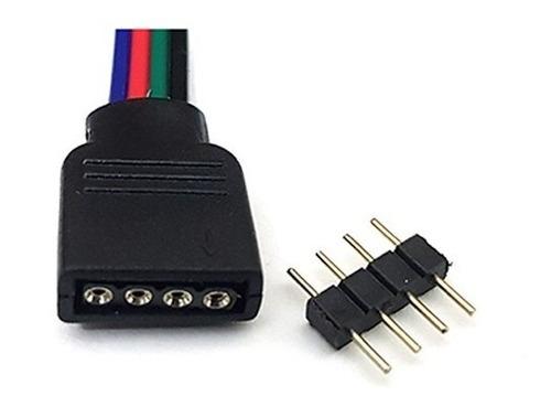 tira de led rgb controlador 5050  5m computadora gamer /e