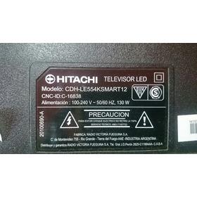 Tira De Led Tv Hitachi Modelo Cdh-le554ksmart12