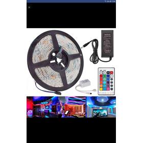 Tira De Led/cinta De Led Rgb 3528 (kit Completo)