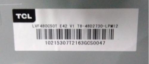 tira de leds para tcl 48 modelo l48d2730a