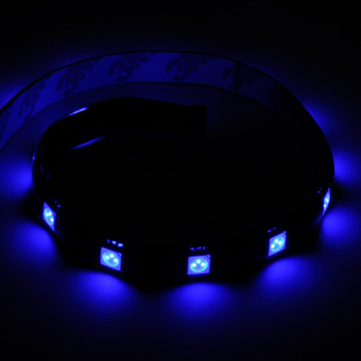 Tira de leds silverstone varios colores pc gabinetes gamer for Tiras led de colores