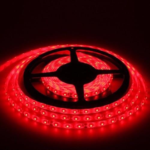 Tira de luces led 5m con 300 led rojo env o gratis por dhl - Luces led en tiras ...
