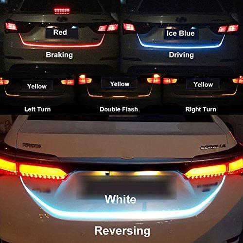 tira de luces led para freno trasero luz intermitente flujo
