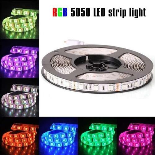 tira de luces led rgb 5050 5 metros - delivery gratis