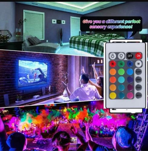 tira de luces led rgb 5050 multicolor 20 metros,originales!!