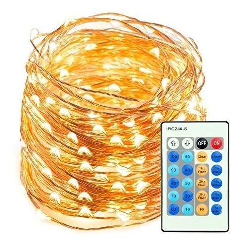 tira de luces taotronics 200 focos led regulables, 66 ft