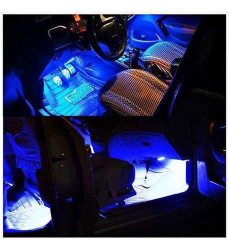 tira de luz led para coche para coches 4 unidades dc 12 v mu