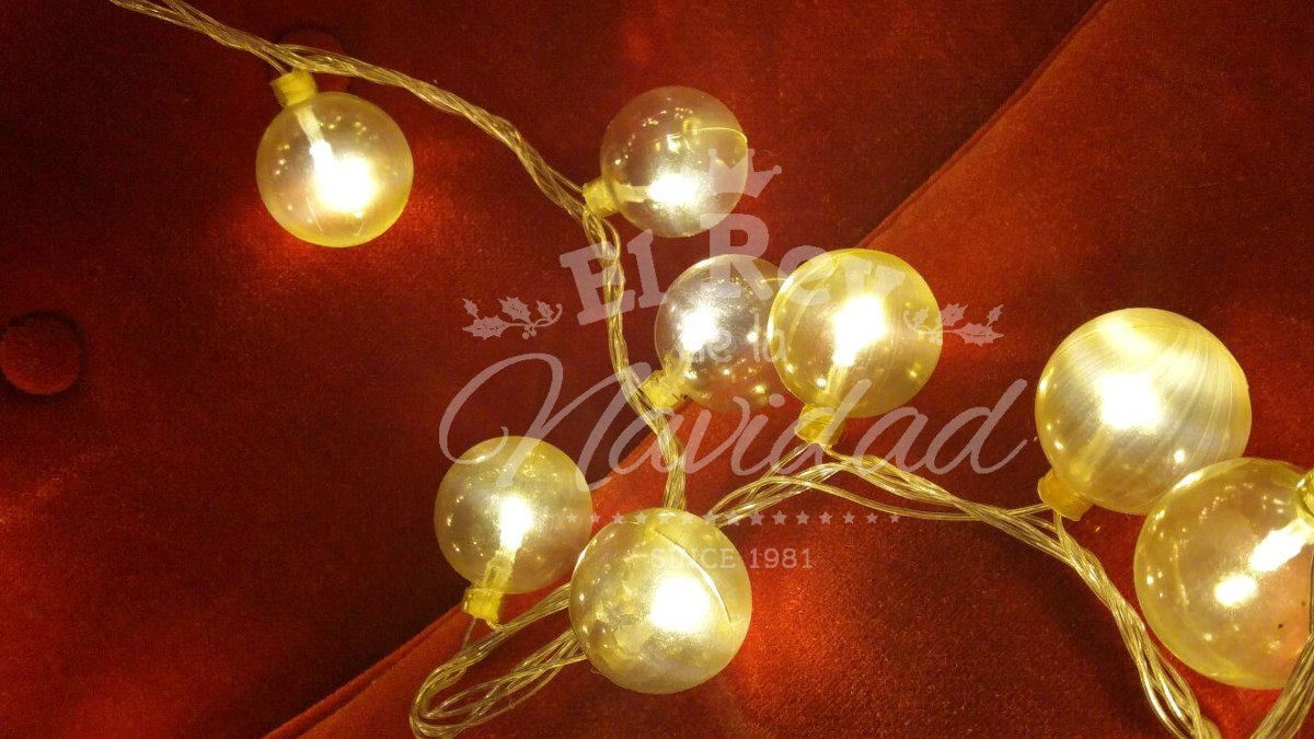 54643a9916d30 Tira De Luz Led Retro Vintage 100 Bolas Tipo Kermesse Bodas ...