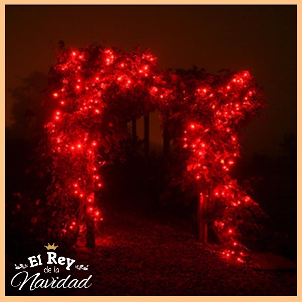 57ace114668 Tira De Luz Led Roja 9mts Casamientos Arbol De Navidad -   199