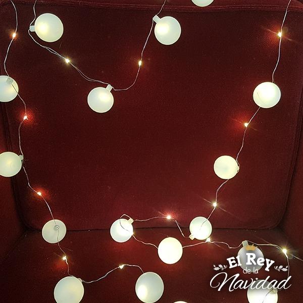 7b42d2b4a13 Tira De Luz Mini Led Alambre Moldeable 4mts Bolitas Navidad -   480 ...
