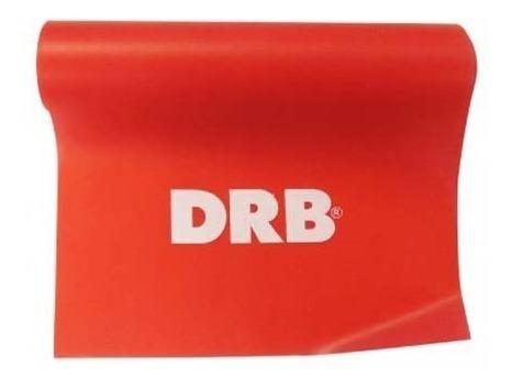 tira elástica multifuerza drb medium roja en gol de oro
