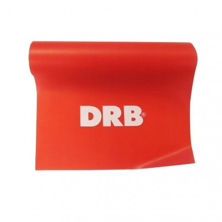 tira elástica multifuerza drb® medium roja fitness pilates