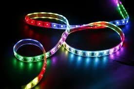 tira led 3528 frio blanco, azul, verde, rojo, amarillo 5m