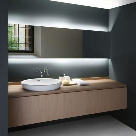 Tira Led Cocina 2835 Simil 5050 Interior Blanco Rollo 5 M