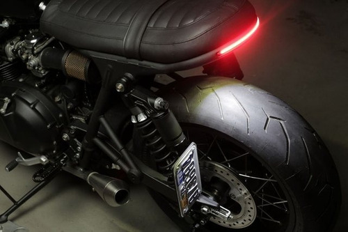 tira led luz freno posición intermitentes moto cafe racer