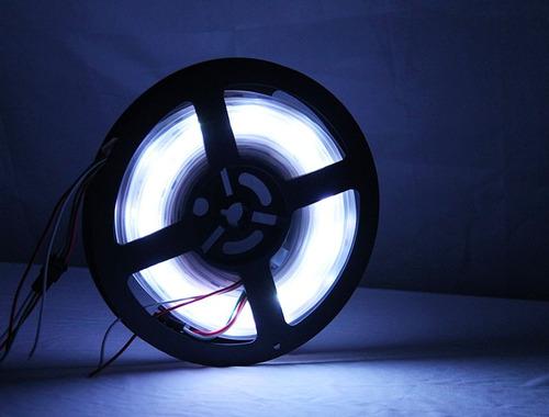 tira led luz junta bare blanca caliente cuerda ancha