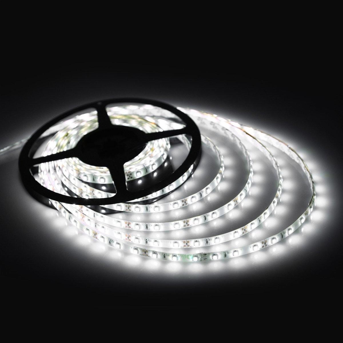 Tira led smd 5050 para interior 300 leds 5 mts un color for Tiras led de colores