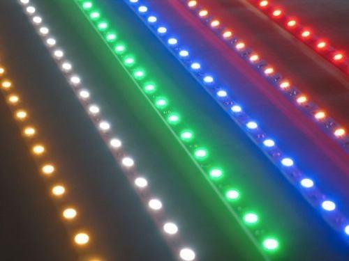tira led rgb multicolor 5050 interior / exterior 5 mts
