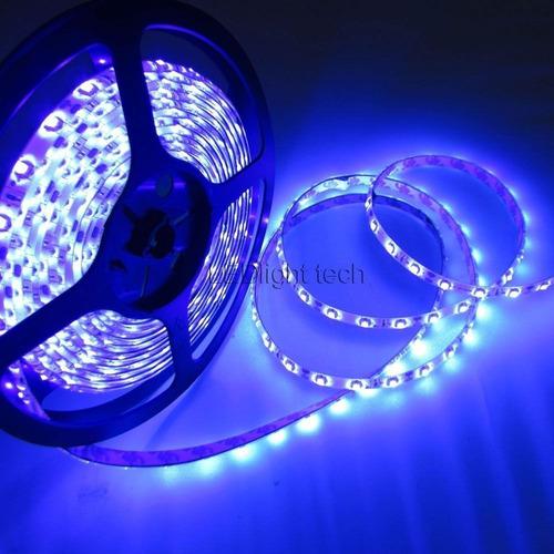 tira led ultravioleta luz 16,4 pies 3528 smd uv 395nm 300