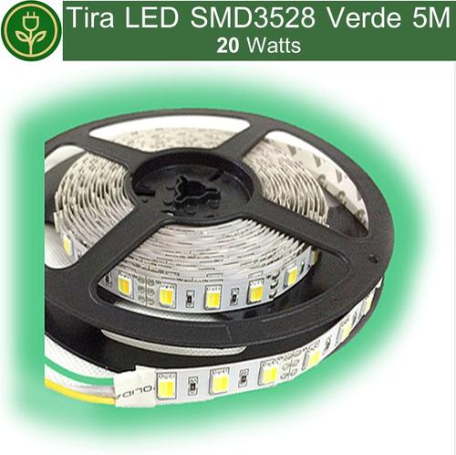 Tira led verde smd3528 5 metros en mercado libre - Tira led 5 metros ...