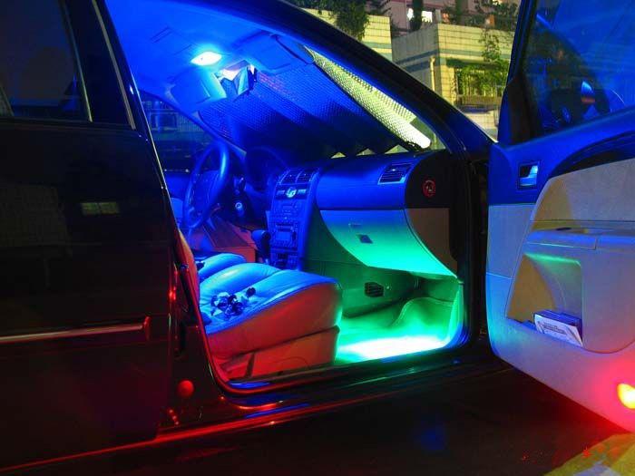 Tira leds 90cm x 45 leds auto moto decorativa tuning 12 v - Luces led en tiras ...
