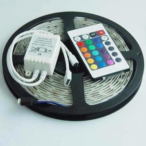 Tira leds rgb 5050 kit completo en mercado libre for Tiras led de colores