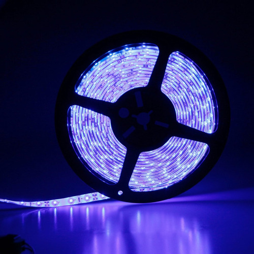 tira luces led. color azul 3528. waterproof. 12 v