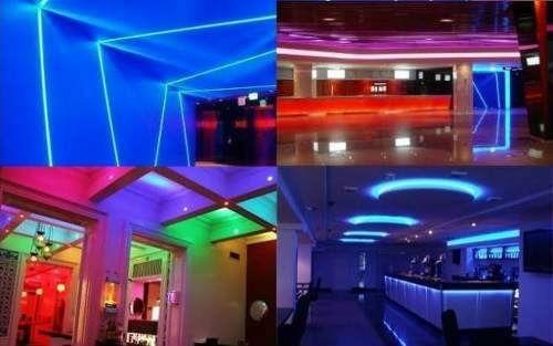 tira luces led rgb control 5 metros pc gamer decoracion 220v