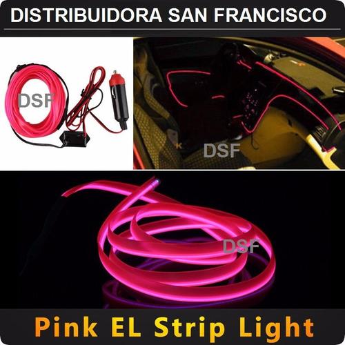 tira luminosa hilo de neon led 12v - autos accesorios tuning
