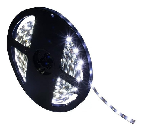 tira luz 300 led 3528 rollo 5 metros exterior ip67