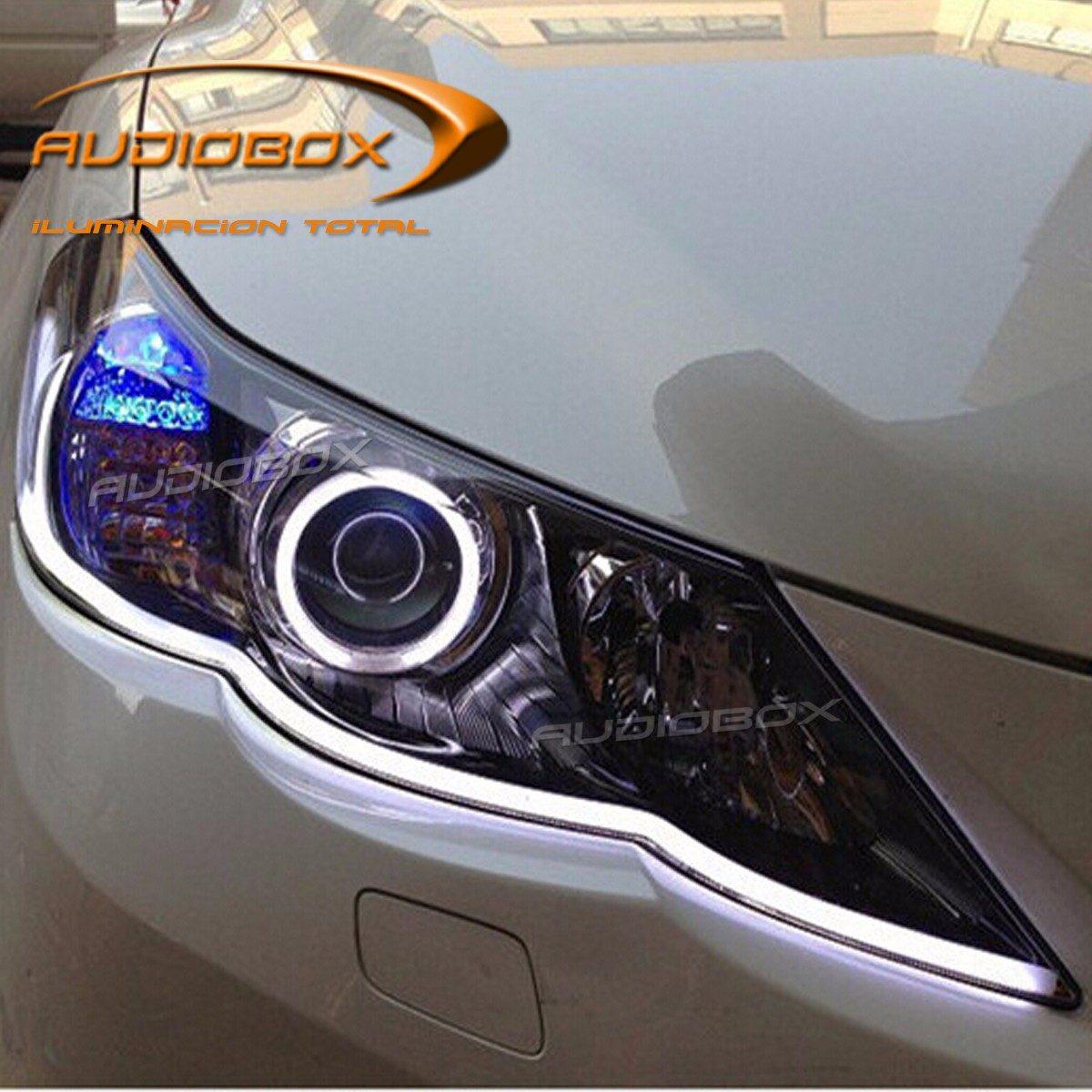 Tira luz led drl flexible silic n 1 color precio x par - Tiras de led precios ...