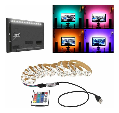 tira luz led rgb 5050 usb